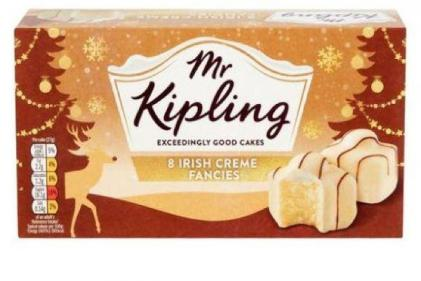 Drooling! Mr Kipling adds Irish Creme French Fancies to special Christmas range
