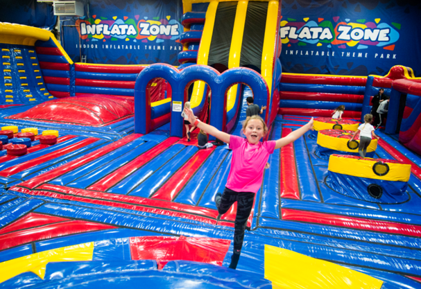 INFLATA ZONE IS NOW OPEN