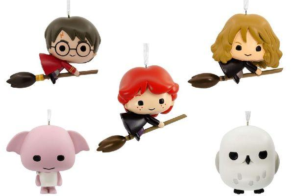 These Harry Potter Christmas tree decorations are too cute