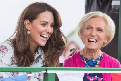 The Duchess of Cambridge teams up with Mary Berry for special Christmas show
