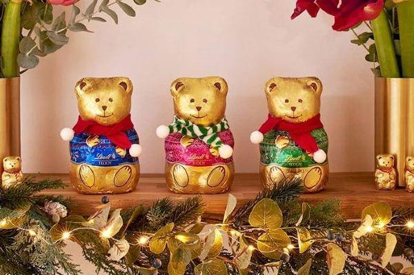 Lindt reveals their Christmas range including Mr and Mrs Lindt Teddy