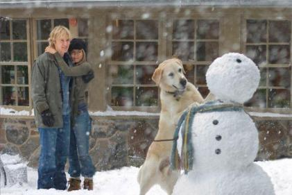 Pass the tissues! Marley and Me is on TV tonight