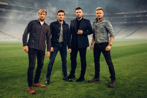 Westlife are on The Late Late Show tonight so were staying in