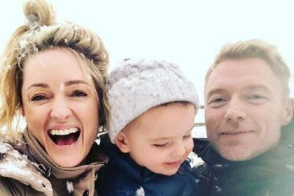 Another little Keating on the way: Baby joy for Ronan and Storm Keating