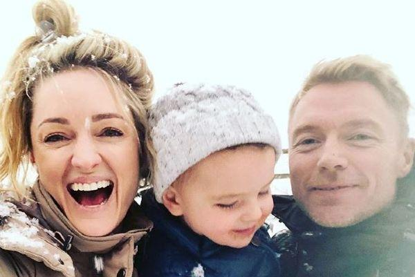 Its a girl! Ronan and Storm Keating welcome a daughter