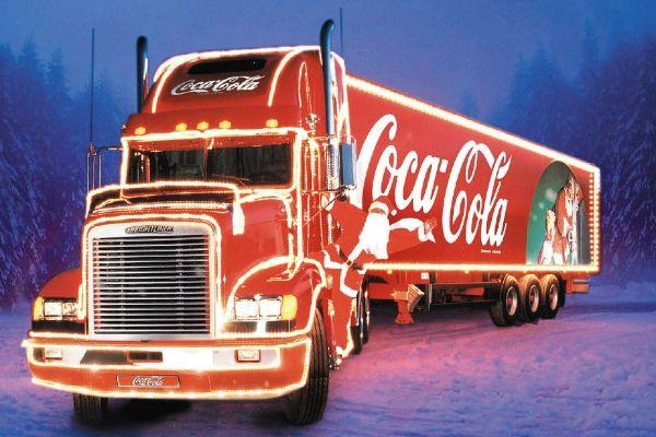 Holidays are Coming! Heres where you can visit the Coca Cola truck this Christmas