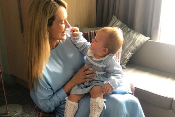 Aoibhín Garrihy has given her daughter a traditional Irish name and it is stunning