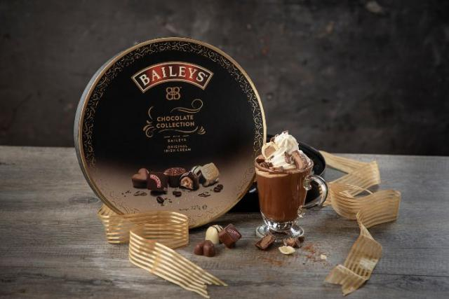 Baileys and chocolate?  We are in heaven
