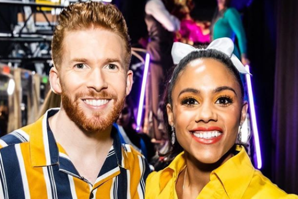 You taught me so much: Neil Jones gushes about Alex Scott after shock Strictly exit