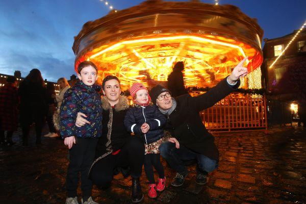 Christmas at The Castle is officially open and you need to bring the kids