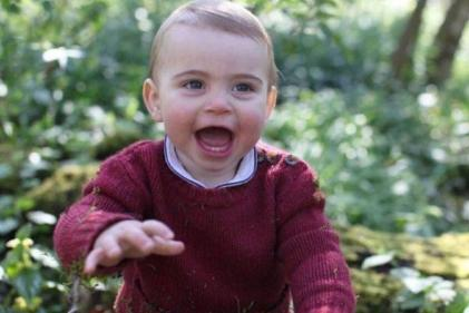 The Duchess of Cambridge shares adorable news about Prince Louis