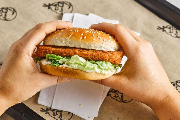 KFC launches new vegan burger and it looks delicious