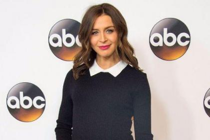 Greys Anatomys Caterina Scorsone welcomes a girl and her name is perfect