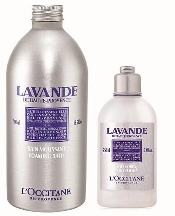 LOccitane Lavender Bath and Body Lotion