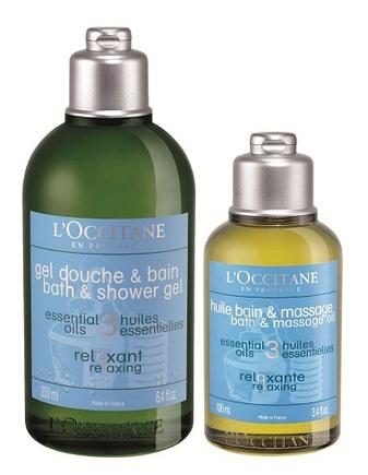 LOccitane Aromachologie Relaxing Massage Oil and Shower Gel