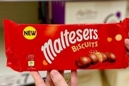You can buy Malteser Chocolate Biscuits and they look delicious
