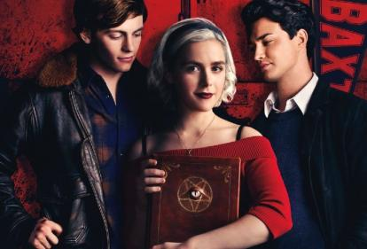 Shes back! The Chilling Adventures of Sabrina returns today