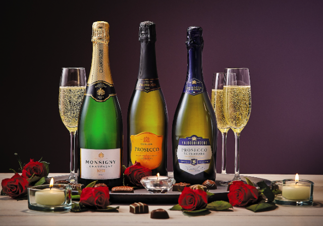 Aldi announces special offers on wine for Valentines Day