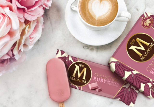 Magnum launches Europes first ever ruby chocolate ice-cream and its so delicious