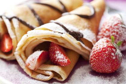 Ginos Gelato are giving away FREE crêpes on Pancake Tuesday