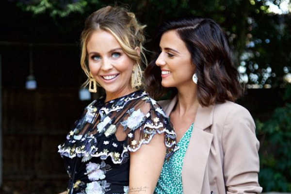 My darling girl: Lydia Bright welcomes her first child into the world