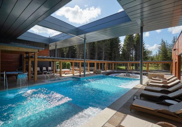 Relax and unwind at this beautiful woodland spa this Mothers Day