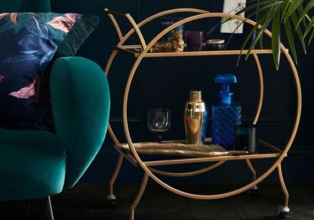 Penneys vintage style bar cart is back for a limited time
