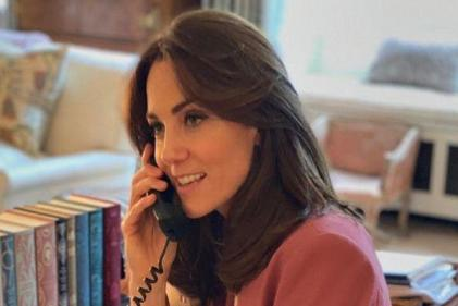 Kate and William call front-line staff to thank them for their bravery