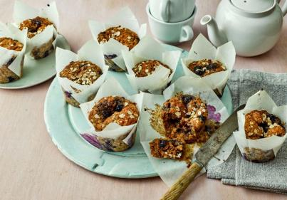 Recipe: These Banana & BlueBerry Oat Muffins are our top breakfast snack