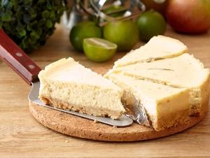 No bake lime cheesecake