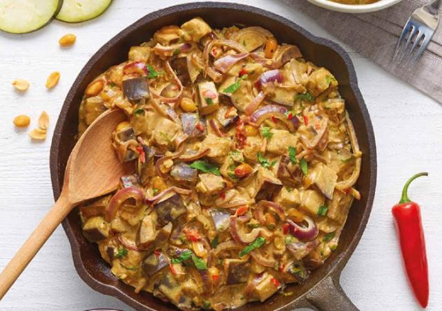 Recipe: Aubergine & Coconut Peanut Curry for Coeliac Awareness Week