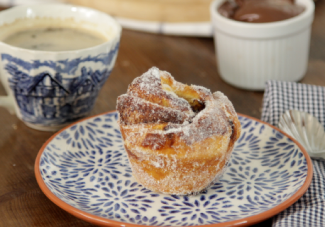 Recipe: The kids willl love these Nutella and Banana Cruffins