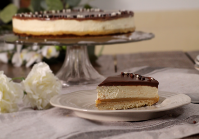 Recipe: How to make this delicious Millionaire Shortbread Cheesecake