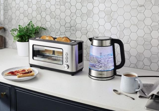 No more burnt toast! Aldi is selling a glass toaster