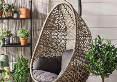 Aldi is selling a Hanging Egg Chair and its perfect for the garden