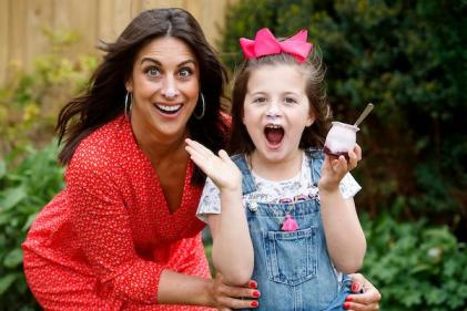 It sounds very Enid Blyton: Lucy Kennedy opens up about family life in lockdown