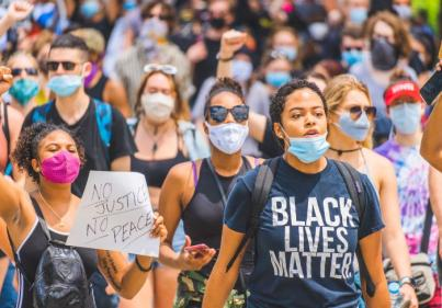 People advised to self-isolate after huge turnout at Black Lives Matter protest