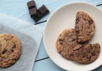 Drooling: The ultimate chocolate chip cookies recipe