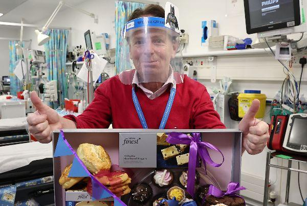 Tesco surprises Temple Street Hospital staff with a sweet surprise