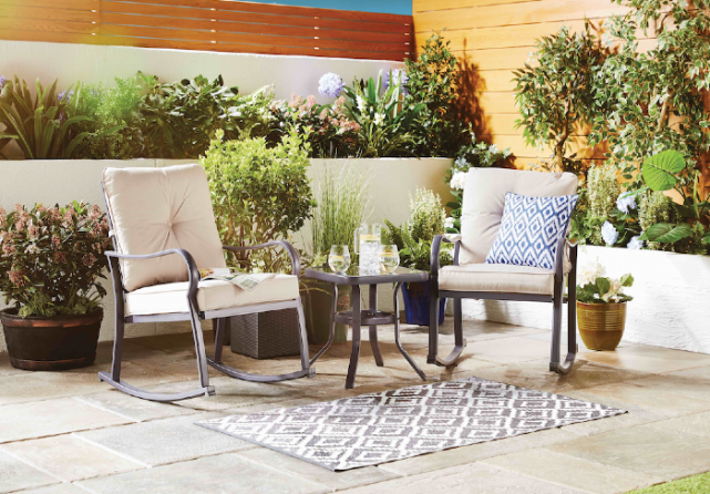 Aldi's Rocking Bistro Set is perfect for summer and its only €129.99