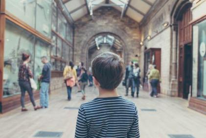 A visit to The Irish Emigration Museum is perfect for a family day out