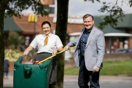 #GetInTheBin: 1 in 4 admit to littering as McDonalds launch new campaign