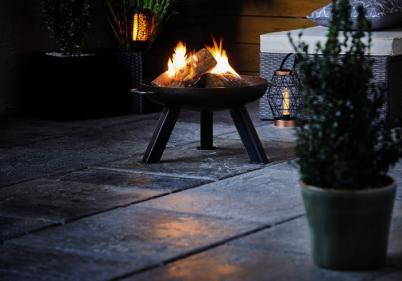 Aldi is selling a steel fire pit for the garden and its super affordable