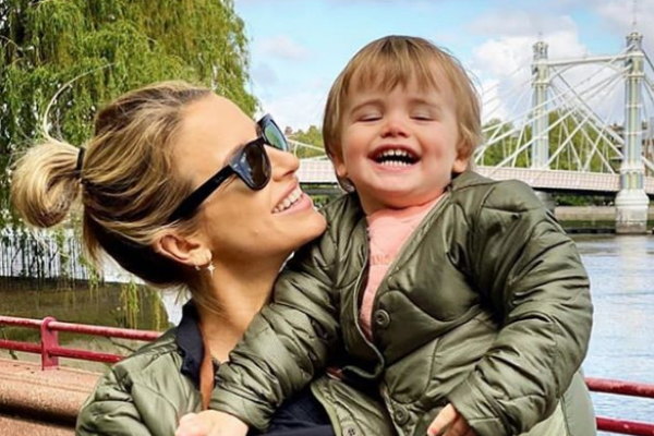 Vogue Williams reveals her baby girl is due VERY soon