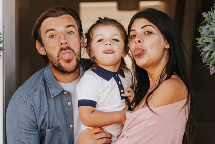 Little princess: Love Islands Cara Delahoyde and Nathan Massey welcome baby #2