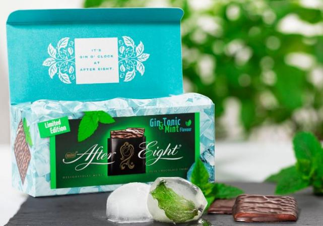 Gin & Tonic flavoured After Eights will be on sale from September
