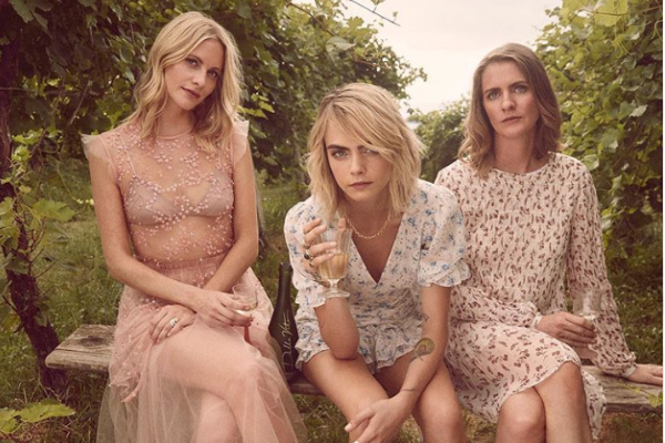 Cara Delevingne and sisters Poppy and Chloe launch new Prosecco brand