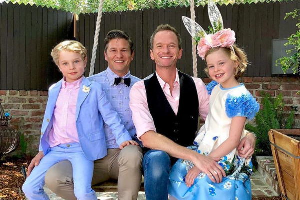 Neil Patrick Harris, his husband and two kids all test positive for Covid-19