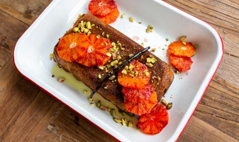 Recipe: Avocas Orange & Almond Syrup Cake