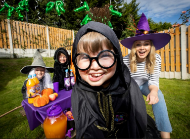Anna Daly launches this year's Trick or Treat for Temple Street'